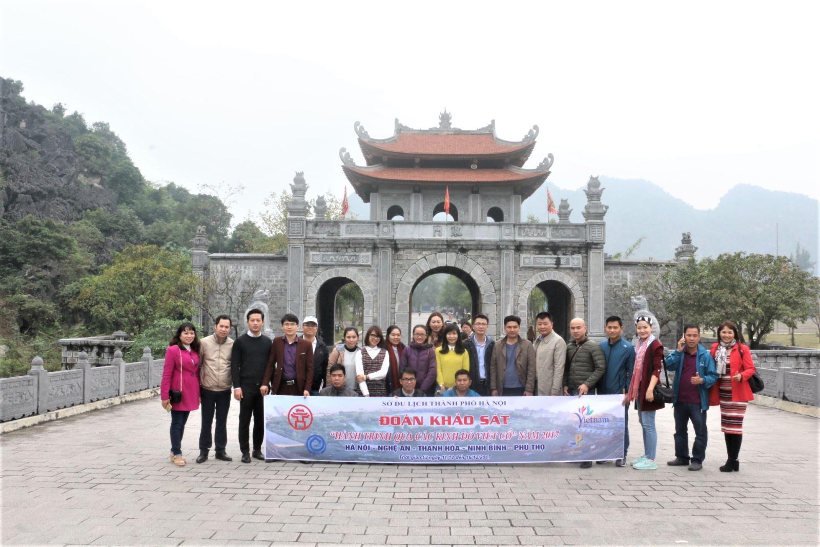 Khảo sát xây dựng chương trình du lịch qua các Kinh đô Việt cổ