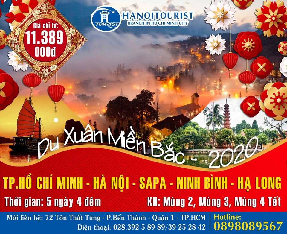 Tour Tết Dương Lịch-  Tết Âm Lịch - Du Xuân Lễ Hội  2021