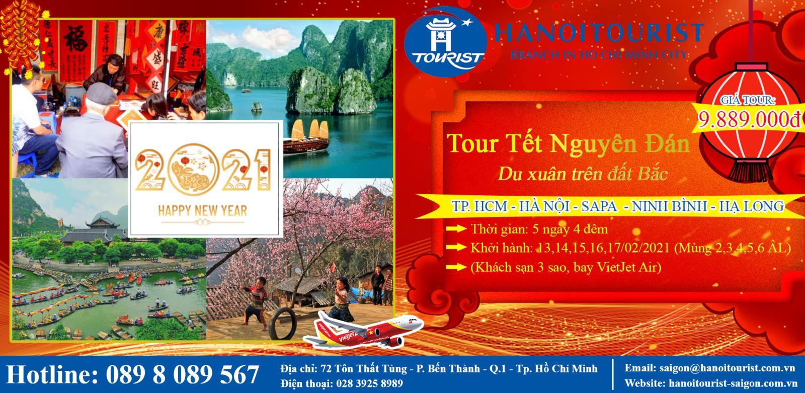 Tour Tết: Hà Nội - Phú Thọ - Lào Cai - Sapa - Ninh Bình - Hạ Long ( 5 Ngày)